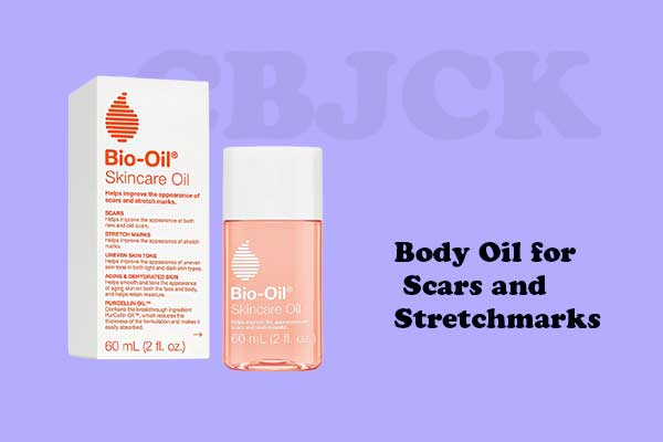 Body Oil for Scars and Stretchmarks