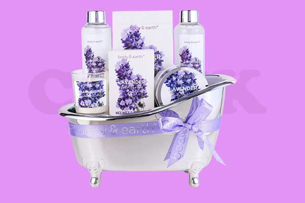 Spa Gifts for Women, Body & Earth Lavender Scented
